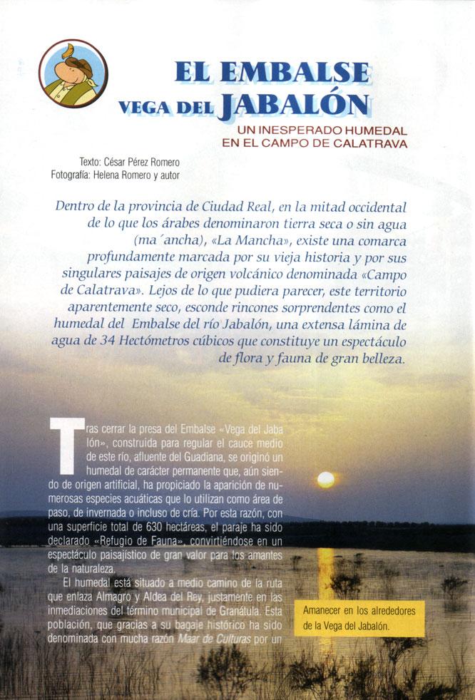 Embalse Vega del Jabalón 1