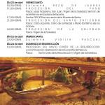 Programa Semana Santa 2011