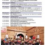 Programa Semana Santa 2012